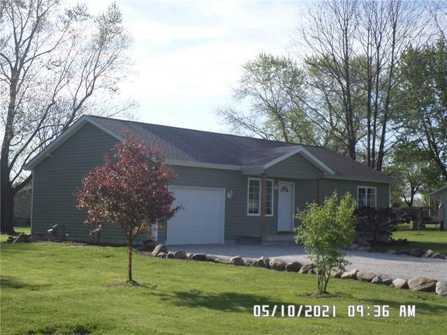911 Columbia Avenue, Alexandria, IN 46001 (MLS #21784082) :: The ORR Home Selling Team