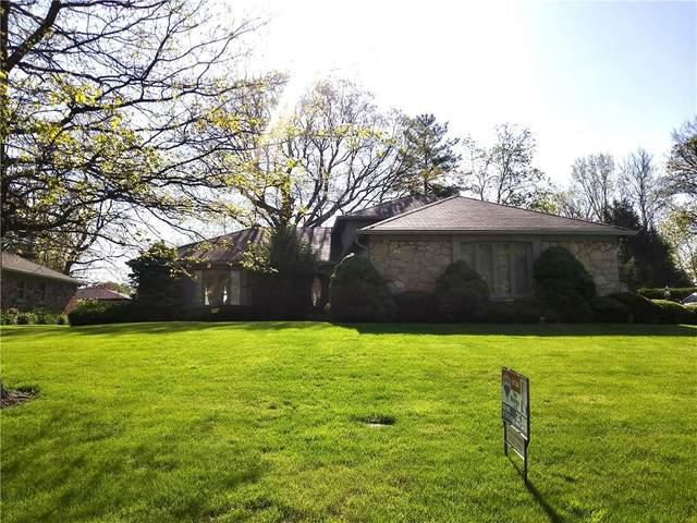 6821 Bruton Drive, Indianapolis, IN 46256 (MLS #21784115) :: RE/MAX Legacy