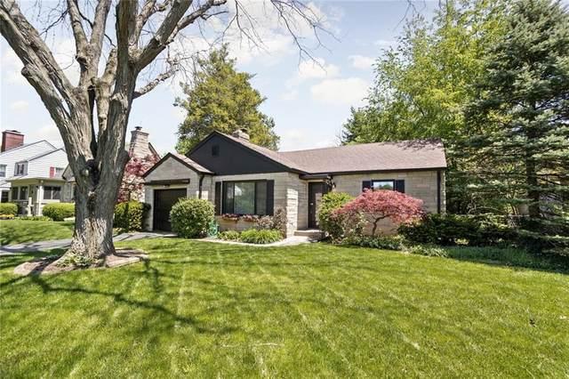 6111 N Meridian Street, Indianapolis, IN 46208 (MLS #21784271) :: Keller & Corbett Real Estate