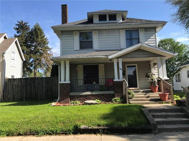 406 Binford Street, Crawfordsville, IN 47933 (MLS #21784407) :: Heard Real Estate Team | eXp Realty, LLC