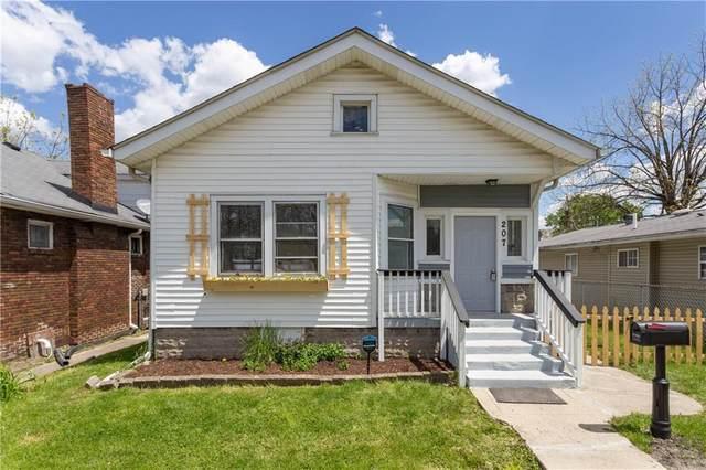 207 N Hamilton Avenue, Indianapolis, IN 46201 (MLS #21784549) :: Heard Real Estate Team | eXp Realty, LLC