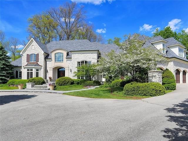 3524 Club Estates Drive, Carmel, IN 46033 (MLS #21784742) :: RE/MAX Legacy