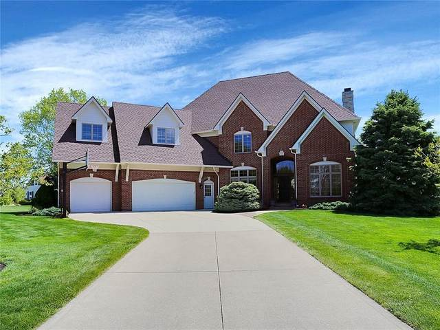 3160 Joshua Circle, Westfield, IN 46074 (MLS #21784744) :: Mike Price Realty Team - RE/MAX Centerstone