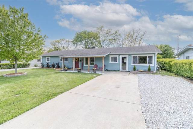 1012 Oak Boulevard, Greenfield, IN 46140 (MLS #21784747) :: Mike Price Realty Team - RE/MAX Centerstone