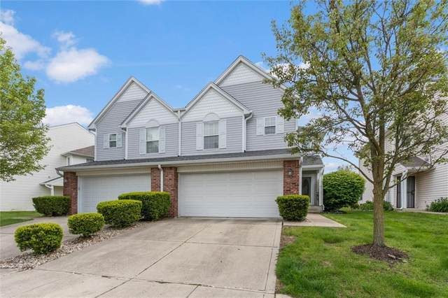1851 Misty Lake Drive, Indianapolis, IN 46260 (MLS #21784838) :: AR/haus Group Realty