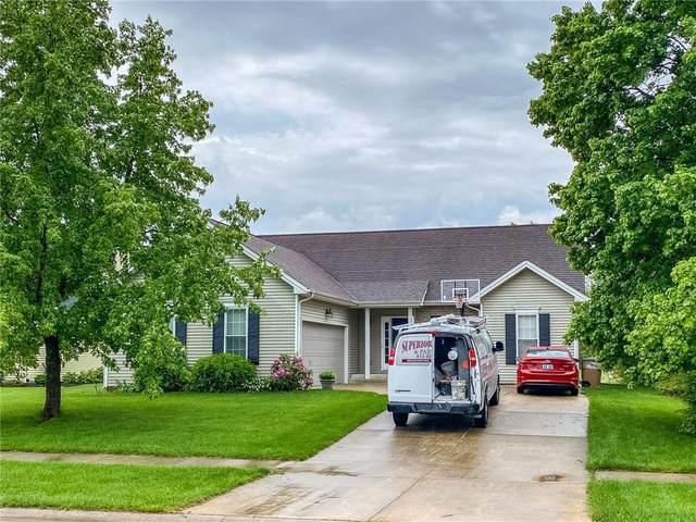 5869 Regency Drive, Columbus, IN 47203 (MLS #21784982) :: Keller & Corbett Real Estate