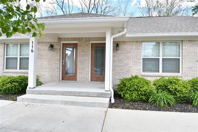 116 Parthenia Avenue, Brownsburg, IN 46112 (MLS #21785001) :: Heard Real Estate Team | eXp Realty, LLC