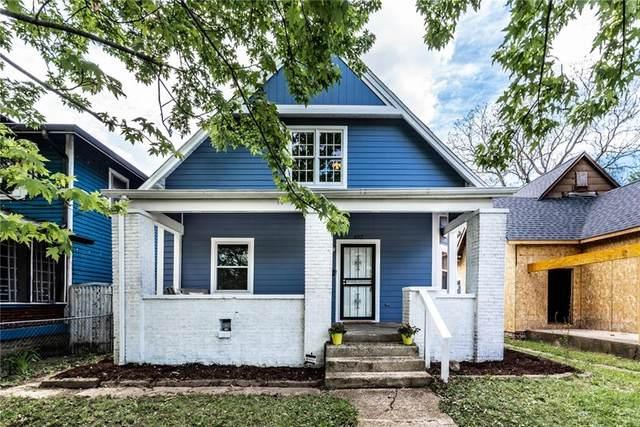402 N Dearborn Street, Indianapolis, IN 46201 (MLS #21785050) :: Heard Real Estate Team | eXp Realty, LLC