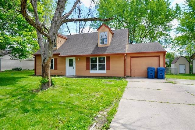 5523 W Epler, Indianapolis, IN 46221 (MLS #21785058) :: AR/haus Group Realty
