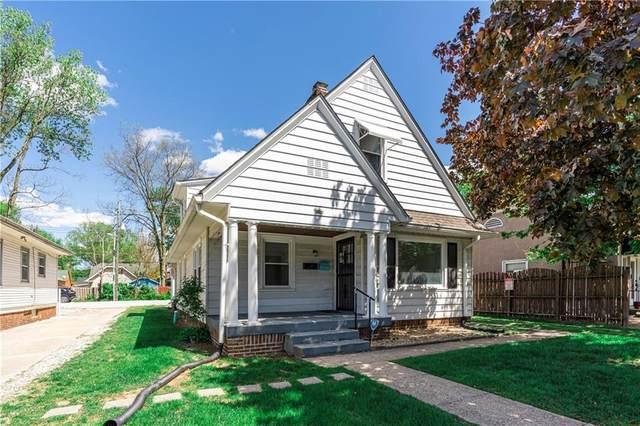 6161 N College Avenue, Indianapolis, IN 46220 (MLS #21785146) :: Keller & Corbett Real Estate
