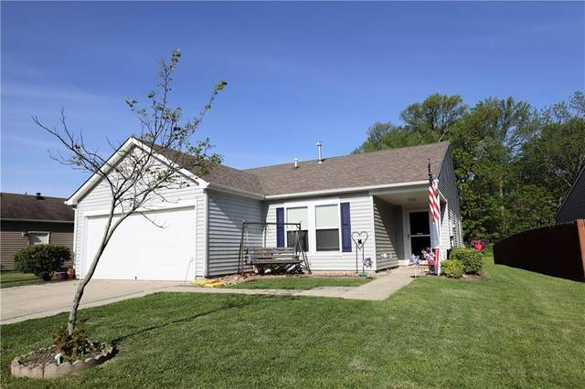 11296 N Creekside Drive, Monrovia, IN 46157 (MLS #21785275) :: Mike Price Realty Team - RE/MAX Centerstone