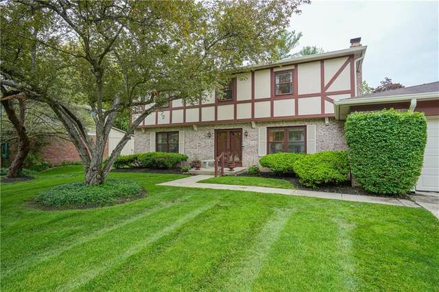 8716 Lancaster Road, Indianapolis, IN 46260 (MLS #21785301) :: Ferris Property Group