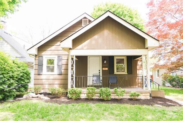 5659 N Carrollton Avenue, Indianapolis, IN 46220 (MLS #21785381) :: The ORR Home Selling Team