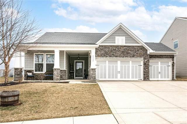 5799 Open Fields Drive, Whitestown, IN 46075 (MLS #21785422) :: Keller & Corbett Real Estate