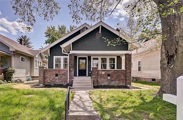 757 N Dequincy Street, Indianapolis, IN 46201 (MLS #21785439) :: Heard Real Estate Team | eXp Realty, LLC