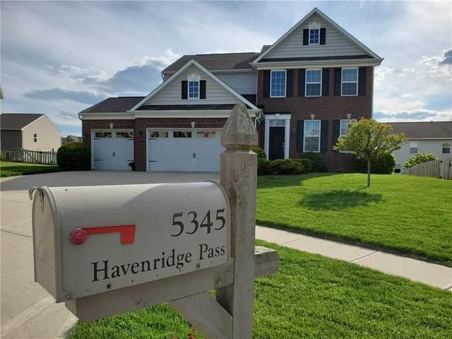 5345 Havenridge Pass, Greenwood, IN 46143 (MLS #21785455) :: HergGroup Indianapolis