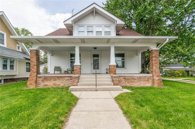 132 W Washington St, Mooresville, IN 46158 (MLS #21785477) :: Mike Price Realty Team - RE/MAX Centerstone
