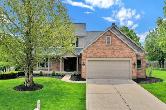 10901 Weston Drive, Carmel, IN 46032 (MLS #21785494) :: Mike Price Realty Team - RE/MAX Centerstone