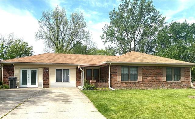 8218 Shiloh Court, Indianapolis, IN 46227 (MLS #21785497) :: The ORR Home Selling Team