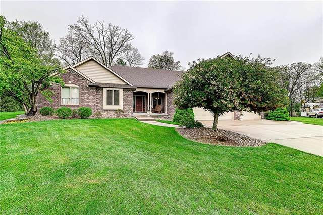 3590 Boxwood Lane, Plainfield, IN 46168 (MLS #21785541) :: The ORR Home Selling Team