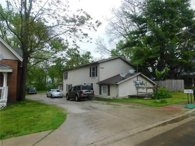 512 & 514 E Chestnut Street, Crawfordsville, IN 47933 (MLS #21785567) :: Dean Wagner Realtors