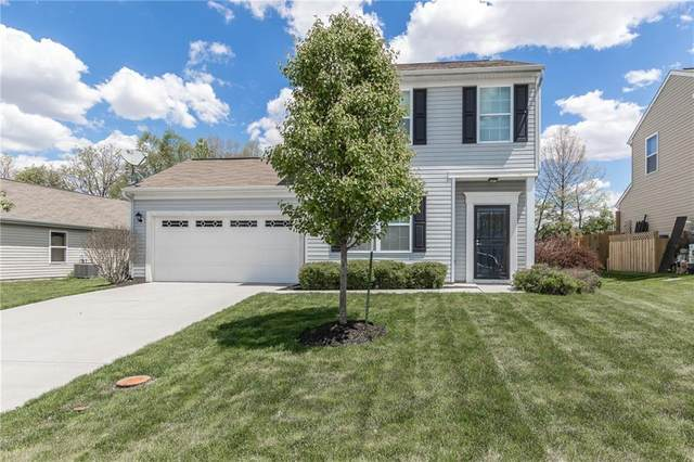 5839 High Grass Lane, Indianapolis, IN 46235 (MLS #21785586) :: Mike Price Realty Team - RE/MAX Centerstone