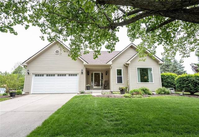 7784 Carly Court, Fishers, IN 46038 (MLS #21785645) :: Dean Wagner Realtors