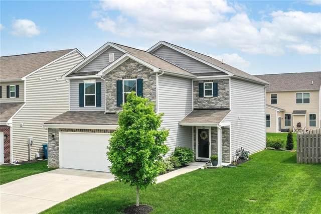 5771 Blue Sky Drive, Whitestown, IN 46075 (MLS #21785667) :: Keller & Corbett Real Estate