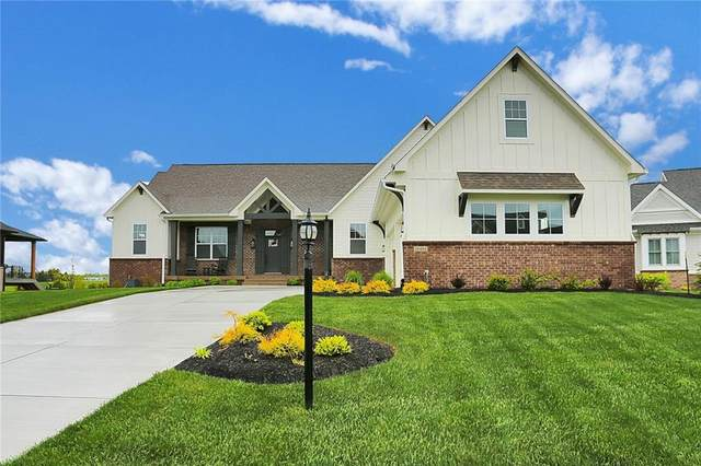 18484 Lakes End Court, Westfield, IN 46074 (MLS #21785707) :: Mike Price Realty Team - RE/MAX Centerstone