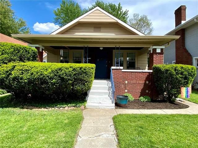 915 N Riley Avenue, Indianapolis, IN 46201 (MLS #21785730) :: Keller & Corbett Real Estate
