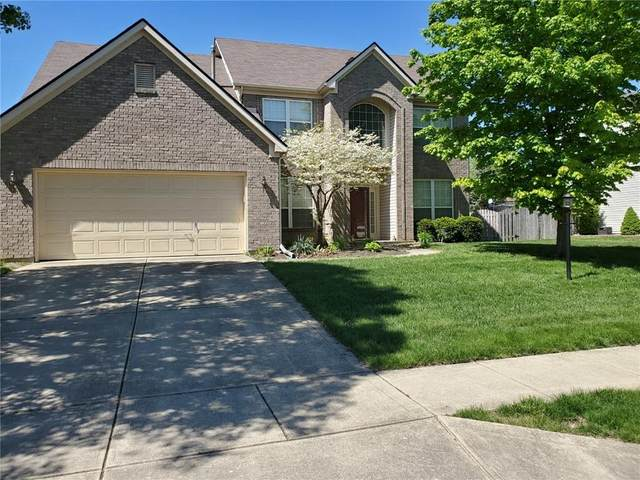 8344 Bent Oak Drive, Indianapolis, IN 46236 (MLS #21785771) :: Mike Price Realty Team - RE/MAX Centerstone