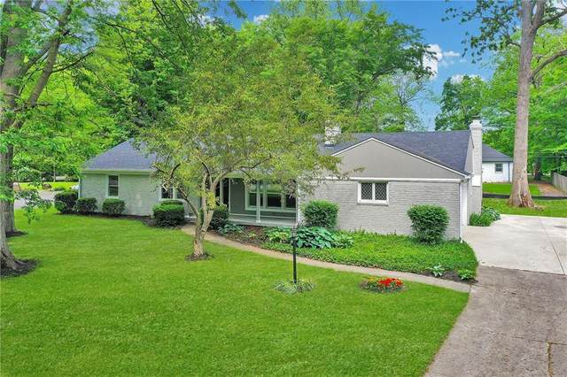 7421 Frederick Drive E, Indianapolis, IN 46260 (MLS #21785852) :: The Indy Property Source