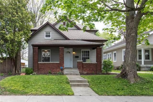 4215 N Guilford Avenue, Indianapolis, IN 46205 (MLS #21785882) :: Keller & Corbett Real Estate