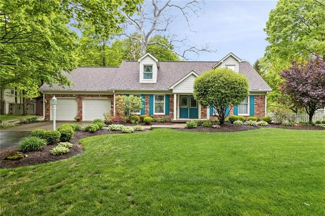 12828 West Road, Zionsville, IN 46077 (MLS #21786040) :: AR/haus Group Realty