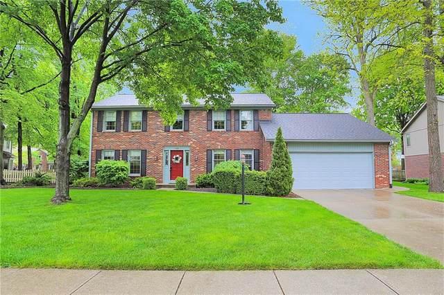 11345 Hickory Woods Drive, Fishers, IN 46038 (MLS #21786090) :: Keller & Corbett Real Estate