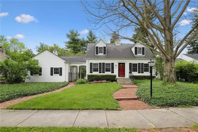 122 E 61st Street, Indianapolis, IN 46220 (MLS #21786099) :: Keller & Corbett Real Estate