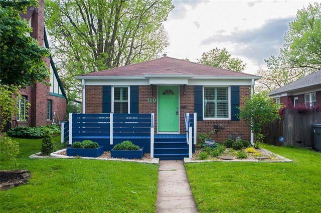 110 N Pasadena Street, Indianapolis, IN 46219 (MLS #21786124) :: Mike Price Realty Team - RE/MAX Centerstone