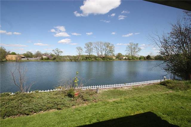 17 Fountain Lake Drive, Greenfield, IN 46140 (MLS #21786184) :: Richwine Elite Group