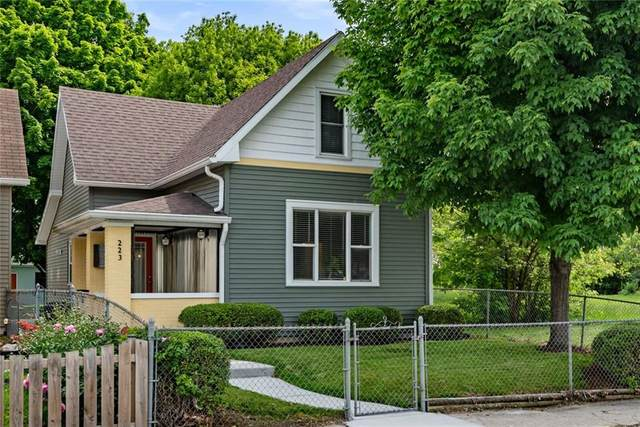 223 Wisconsin Street, Indianapolis, IN 46225 (MLS #21786306) :: Ferris Property Group