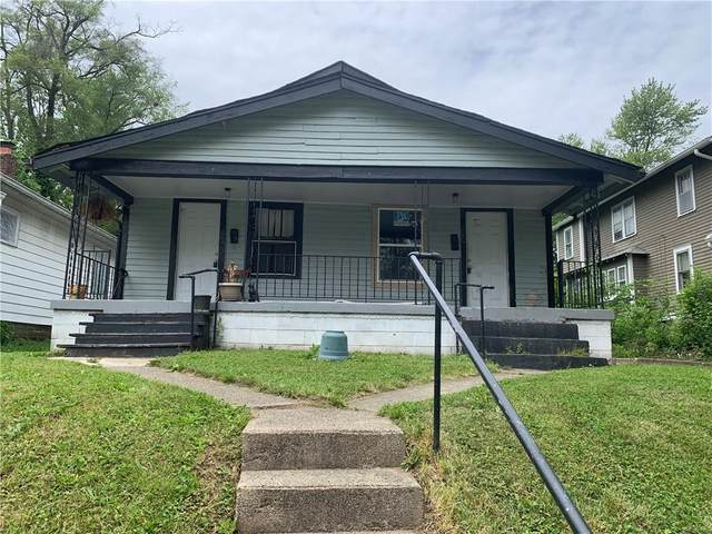 50 S Colorado Avenue, Indianapolis, IN 46201 (MLS #21786337) :: The Indy Property Source