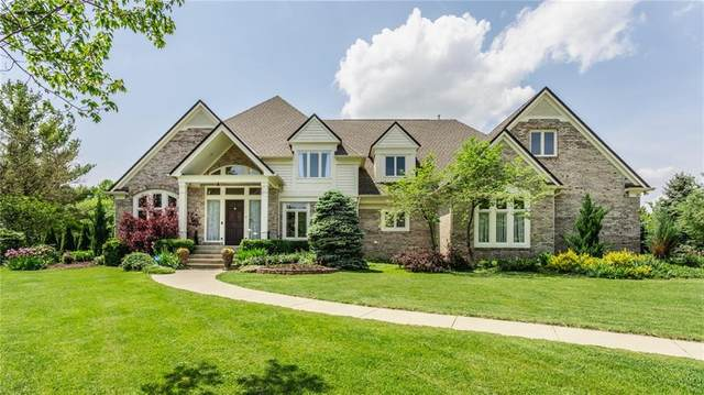 3417 Walnut Creek Court, Carmel, IN 46032 (MLS #21786351) :: Mike Price Realty Team - RE/MAX Centerstone