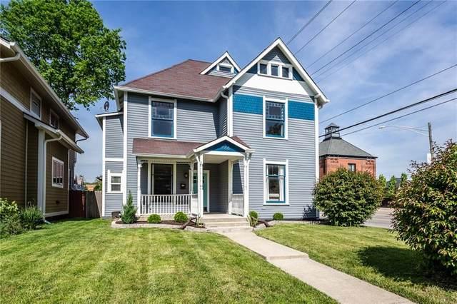 1566 N Carrollton Avenue, Indianapolis, IN 46202 (MLS #21786389) :: Ferris Property Group