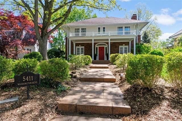 5411 N Washington Boulevard, Indianapolis, IN 46220 (MLS #21786472) :: Keller & Corbett Real Estate