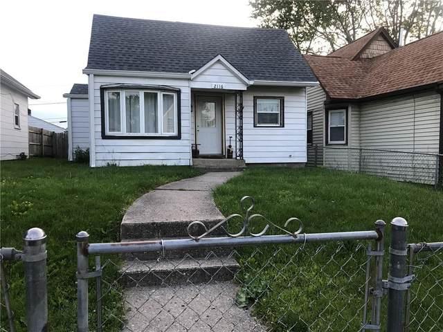 2116 Ringgold Avenue, Indianapolis, IN 46203 (MLS #21786483) :: Keller & Corbett Real Estate