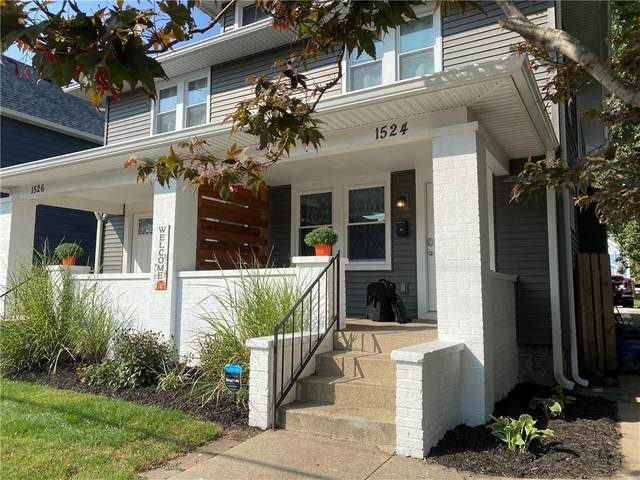 1524 S East Street, Indianapolis, IN 46225 (MLS #21786703) :: Mike Price Realty Team - RE/MAX Centerstone