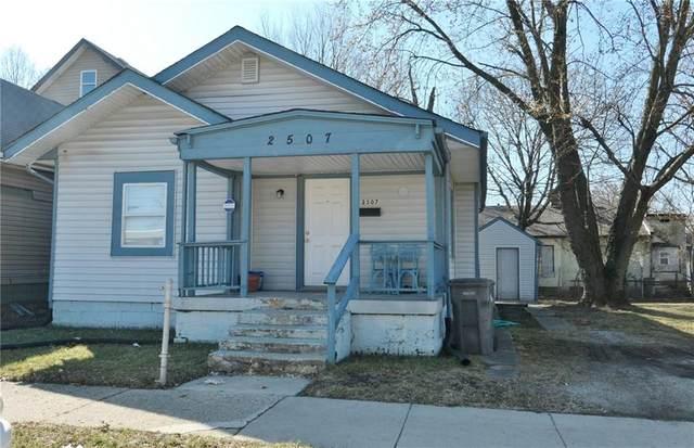 2507 E Michigan Street, Indianapolis, IN 46201 (MLS #21786806) :: Keller & Corbett Real Estate