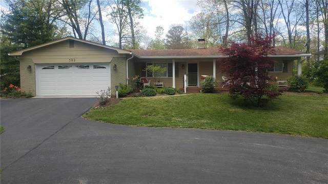 382 Wells Drive, Nashville, IN 47448 (MLS #21786807) :: RE/MAX Legacy