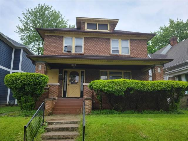 1611 Woodlawn Avenue, Indianapolis, IN 46203 (MLS #21786857) :: Ferris Property Group