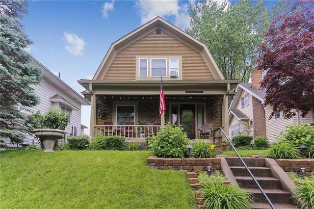 616 N Bancroft Street, Indianapolis, IN 46201 (MLS #21786914) :: Keller & Corbett Real Estate