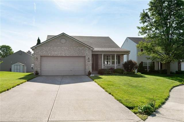 2205 Majestic Prince Drive, Indianapolis, IN 46234 (MLS #21786944) :: Keller & Corbett Real Estate